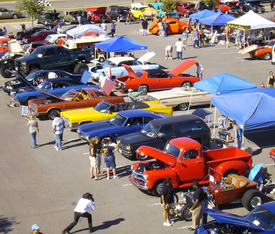 Annual Kenton Car Show